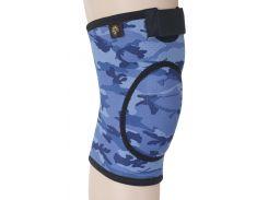 Бандаж для коленного сустава и связок, закрыт ARMOR ARK2106 размер M, синий (6358849)