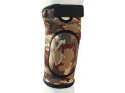 Бандаж для коленного сустава и связок, закрыт ARMOR ARK2106 размер S, коричневый  (6358856)