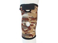 Бандаж для коленного сустава и связок ARMOR ARK2101 размер XL, коричневый (6358847)