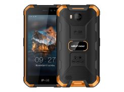 ulefone armor x6 dual sim black/orange (6937748733430)