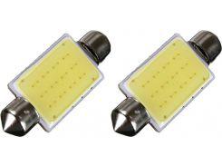 Автомобильная лампа Idial 458 T11 1 Led COB-27 Festoon 31 CAN 2шт.