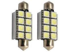 Автомобильная лампа Idial 450 T10 8 Led 5050 SMD CAN 2шт. (1759303)