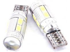 Автомобильная лампа Idial 487 T10 10 LED 3030 SMD 12V 2шт. (2910151)