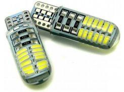 Автомобильная лампа Idial 478 T10 24 Led 3014 SMD 12V 2шт. (2929243)