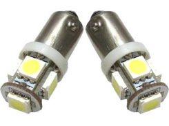 Автомобильная лампа Idial 459 T4 BA9s 5 Led 5050 SMD 2шт. (2929247)