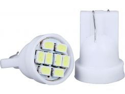 Автомобильная лампа Idial 445 T10 8 Led 3020 SMD (2шт)