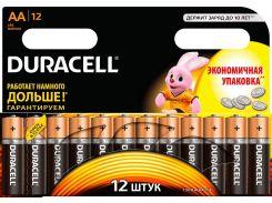 Батарейки Duracell AA MN1500 LR06 12шт 81367213 (1319208)