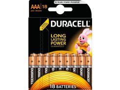 Батарейки Duracell LR03 MN2400 18шт 5002779 (1858457)