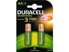 Батарейки Duracell AA HR6 1300мАч 2шт 5000177 (2558596)