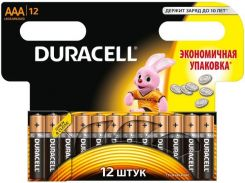 Батарейки Duracell LR03 MN2400 12шт 81545432 (1858542)