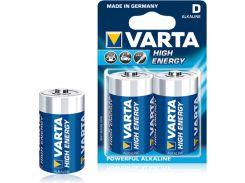 Батарейки Varta HIGH E D BLI 2 ALKALINE 04920121412 (310979)