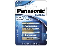 Батарейки Panasonic Evolta C BLI Alkaline 2шт LR14EGE/2BP (355612)