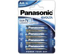 Батарейки Panasonic LR06 Alkaline Evolta AA 4шт LR6EGE/4BP (355608)