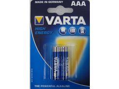 Батарейки Varta AAA HIGH E BLI 2 ALKALINE 04903121412 (310949)