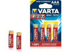 Батарейки Varta AAA High Energy Bli 4 Alkaline 04703101404 (311009)