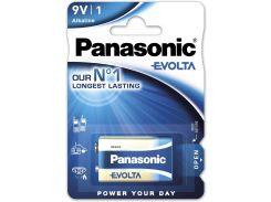 Батарейка Panasonic 6LR61 Alkaline Evolta Krona 6LR61EGE/1BP (355603)