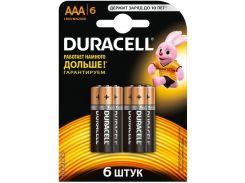 Батарейки Duracell LR03 MN2400 6шт 81545427 (2083453)