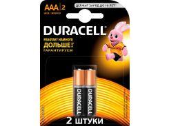 Батарейки Duracell LR03 MN2400 2шт 81545417 (2558640)