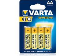 Батарейки Varta Superlife Migno AA BLI 4 Zinc-Carbon 02006101414 (316633)
