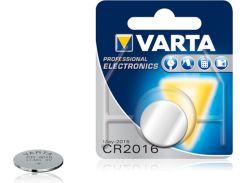 Батарейка Varta CR 2016 Electronics BLI 1 Lithium 06016101401 (297240)