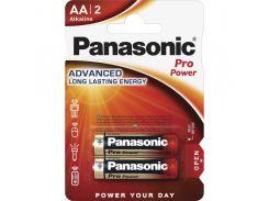 Батарейки Panasonic LR06 Alkaline Pro Power AA 2шт LR6XEG/2BP (355619)