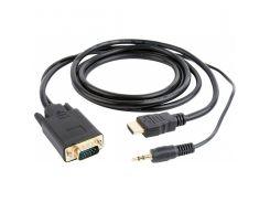 Кабель Cablexpert A-HDMI-VGA-03-6 1.8м (2489306)