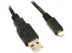 Кабель Viewcon VW 009 USB 2.0 Тип A - Micro-USB 2.0 1.5 м Черный (609255)