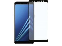 Защитное Стекло 2e Samsung Galaxy A8+/A730 2.5D Black 2E-TGSG-GA8P (2663306)