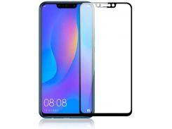 Защитное стекло PowerPlant Full Screen для Huawei P Smart Plus Черный (2891710)