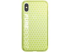 Чехол Baseus Parkour для iPhone X Lemon green (WIAPIPHX-KP06)