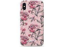 Чехол Pump Plastic Fantastic Case для iPhone 8/7 Pink Pionies (PMPF8/7-7/50)