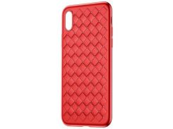 Чехол Baseus BV Weaving для iPhone X Red (WIAPIPHX-BV09)