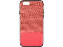Чехол Florence Leather + Shining for Apple Iphone 6/6S Red (RL051270)