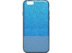 Чехол Florence Leather + Shining for Apple Iphone 6/6S Blue (RL051271)