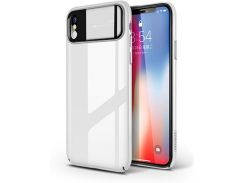 Чехол Joyroom Chi hazel series JR-BP433 iPhone X White (2892569)