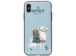 Чехол Joyroom Painting attic series JR-BP03 iPhone X Alpaca (2892555)