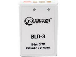 Аккумулятор для мобильного телефона Extradigital Nokia BLD-3 (7210+7250+6610) (BMN6287)