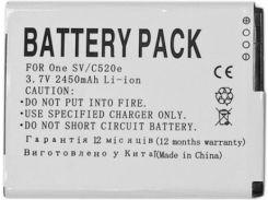 Аккумулятор для мобильного телефона PowerPlant HTC T528W. PM60120. One SV. C520e. C525E. C525C (DV00DV6202)