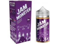 Жидкость Jam Monster Grape 3 мг 100 мл Пшеничный хлеб с хрустящей корочкой/сливочное масло/темный виноград сваренный с сахаром (2777623)