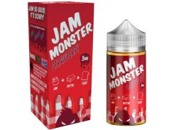 Жидкость Jam Monster Strawberry 3 мг 100 мл Жаренный тост/сливочное масло/клубничный джем (2777622)