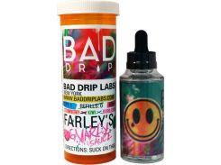 Жидкость Bad Drip Farley s Gnarly Sauce 3мг/мл 60мл Жвачка со вкусом киви и клубники (2794617)