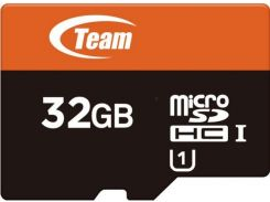 Карта Памяти Team Group microSDHC 32GB UHS-I + SD адаптер (912911)