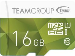 Карта Памяти Team Group microSDHC 16GB Class 10 UHS-I + SD адаптер (1779941)