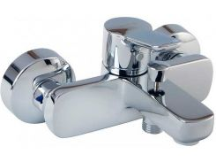 Смеситель для ванны Kludi Pure & Easy Серебристый (376810565)