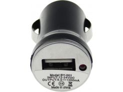 Автомобильное зарядное устройство Toto TZZ-54 1 А Black (2872088)
