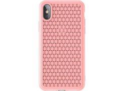 Чехол Baseus BV Case для iPhone XS Pink (WIAPIPH58-BV04)