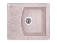 Кухонная мойка Cosh 58х50 kolor 300 Бежевый (2172536)