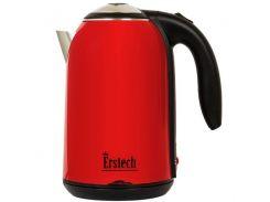 Электрический чайник-нержавейка ERSTECH EH-318Т 1.8 л 2000 Вт цельная колба Красный (34-45676)