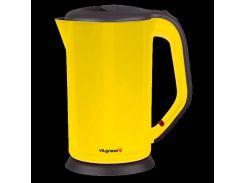 Электрический чайник-нержавейка ViLgrand VS303 Желтый (34-45674)