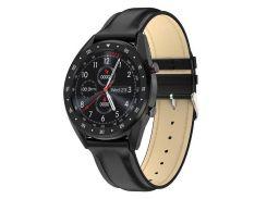 Смарт-часы Microwear L7 с ЭКГ и тонометром Черные (10160-3)